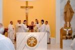 Posviacka nového oltára a požehnanie reverend