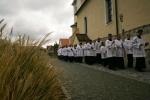 Liturgický sprievod nedeľnej bohoslužby