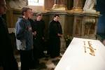 Pri rakve kardinála Tomáša Špidlíka SJ