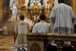 Vespery v katedrale sv. Emerama v Nitre na slavnost Krista Krala